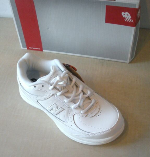 New Balance Womens MW577WT Walking Shoes -Sneakers- WHITE- 7.5, 8.5, 9 (D -WIDE)