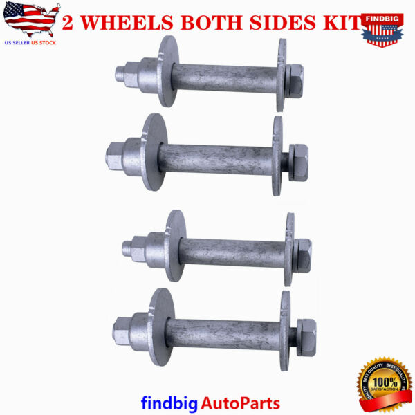 2 WHEELS LOWER CONTROL CAMBER BOLT KIT BOTH SIDES FOR TOYOTA 4RUNNER TACOMA T100
