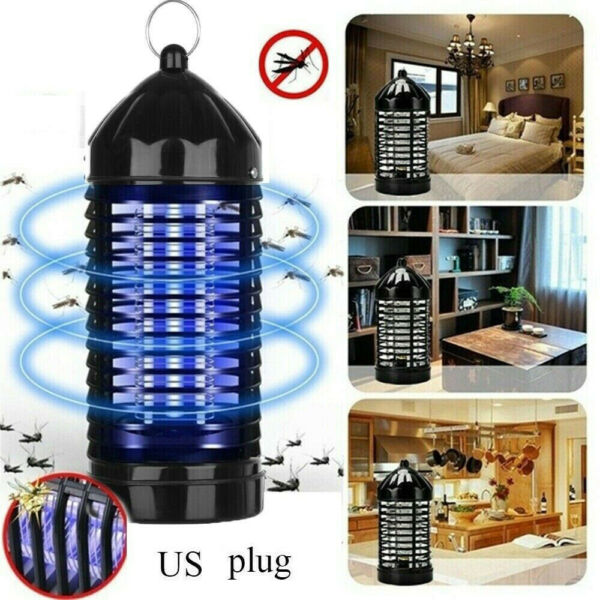 Electric UV Mosquito Killer Lamp Indoor Fly Bug Insect Zapper Trap Home NEW