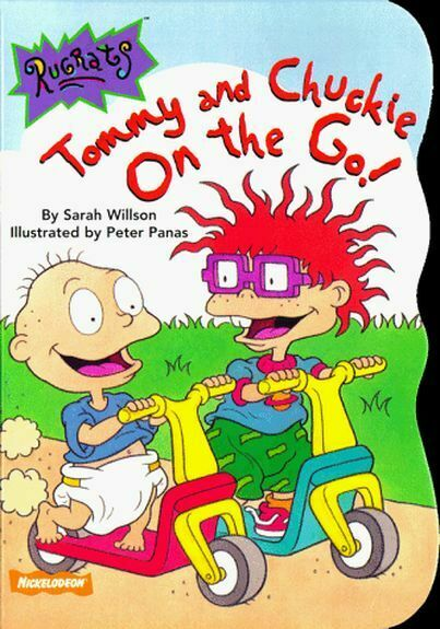 Tommy and Chuckie on the Go Rugrats Super Shaped Board Book $5.99