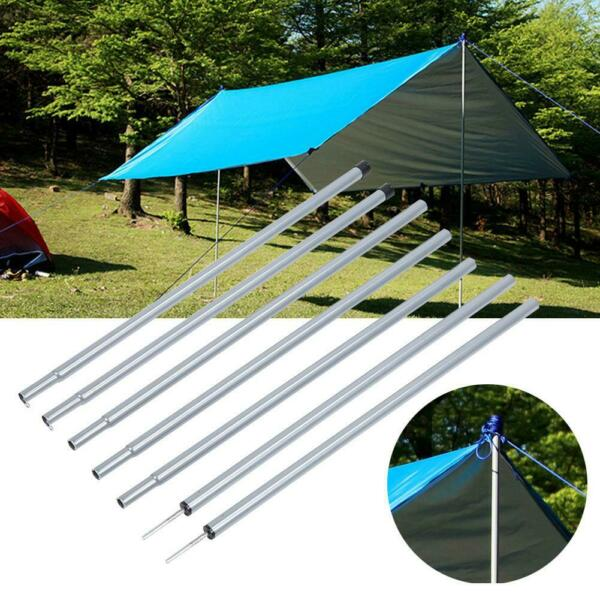 8Pcs Tarp Support Rod Porch Upright Pole Courtyard Rain Canopy Awning Accessory
