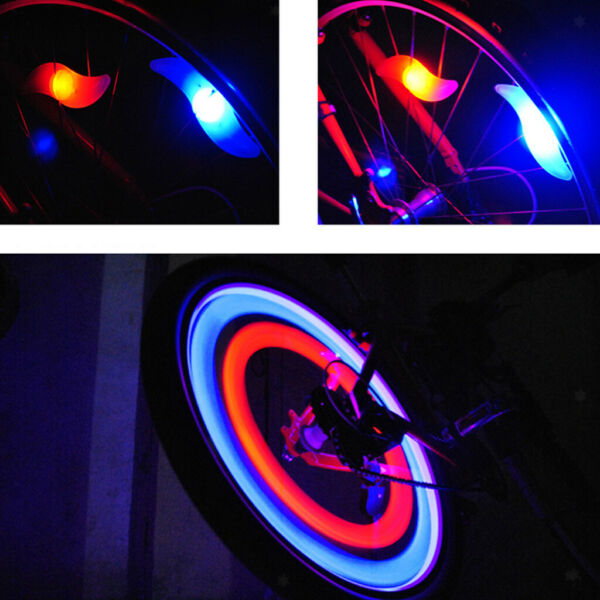 Bright Bike Spoke Lights Wheel LED Flash for Bicycle Accessories Decoration $6.60