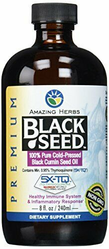 Amazing Herbs Premium Black Seed Oil 8 Fluid Ounce