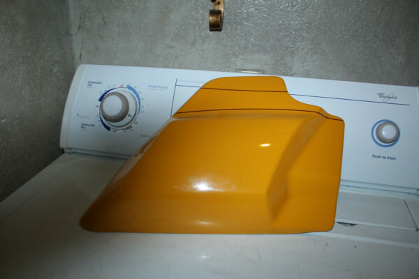 YELLOW RIGHT SIDE HARLEY COVER 2009 OR NEWER TOUR STREET KING CLASSIC GLIDE $29.50
