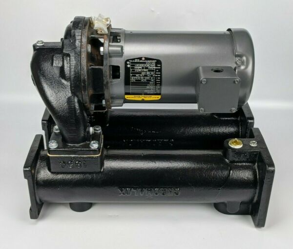 Chromalox 4quot; Pump Assy w Baldor JM3120 Motor 1.5HP 230 460 3PH heat oil $809.95