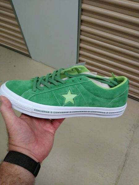 Converse ONE STAR OX MINT GREEN  / JADE  / LIME 159816C  SIZE 10.5  MEN'S NEW