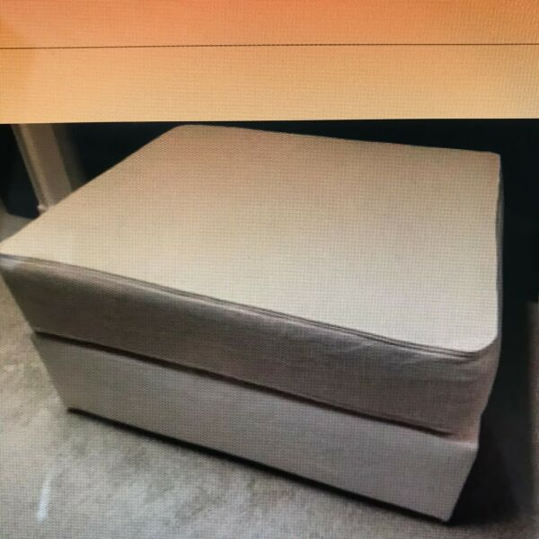 LoveSac Sactional NEW 6 Series Cover in Seashell Polylinen 1 Base Cover Set NWT