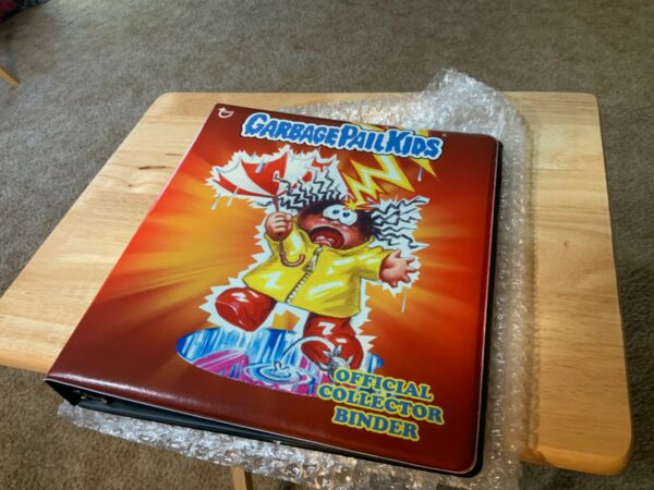 2013 Topps Garbage Pail Kids Stormy HeatherApril Showers RARE Official Binder!