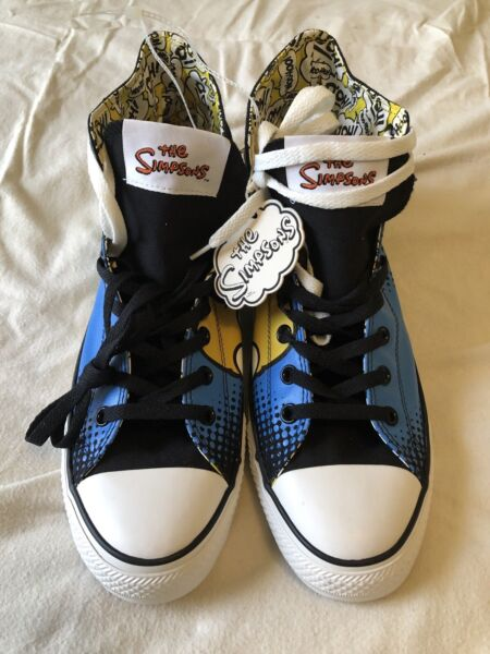 Converse All Star Chuck Taylor High Top Simpsons Men's Size 12