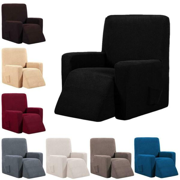 Waterproof Elastic Recliner Chair Cover Elasticity Stretch Wingback Chair Sofa $31.34