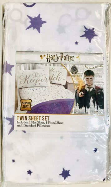Jay Franco & Sons Inc Harry Potter Super Soft Polyester 3 Piece Twin Sheet Set