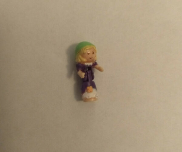 Vintage 1990s Polly Pocket Doll Gypsy Fortune Teller