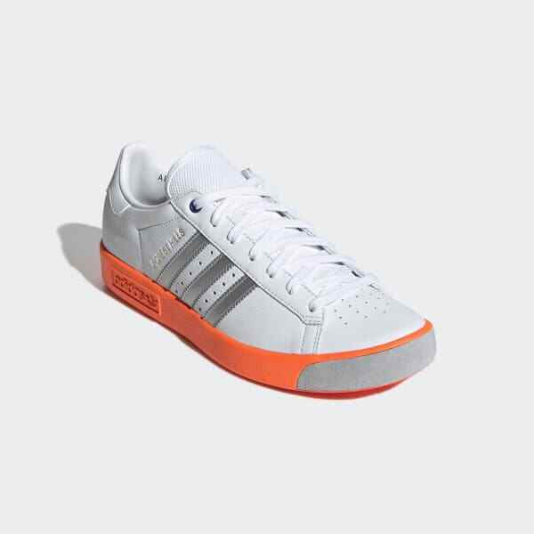 Adidas Forest Hills Trainers Men's Sneakers cloud white Orange EE5730 Size 10