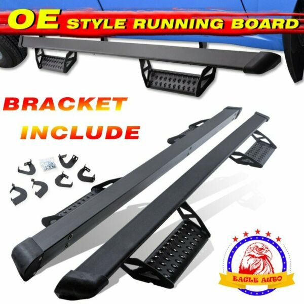 Fit 2005 2021 Toyota Tacoma Double Cab 3quot; Running Board Side Step Hoop bar BCTA