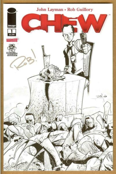 Chew #1 Limited Edition NM+ Signed ROB GUILLORY $49.95