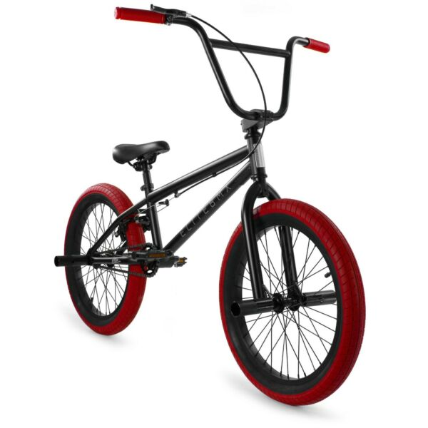 Elite BMX 20quot; Bike Stealth Freestyle Black Red NEW 2021 $269.00
