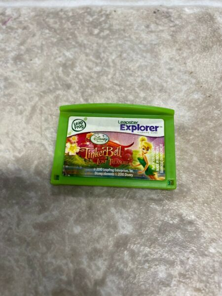 Leap Frog Leapster Explorer Cartridge Tinkerbell Lost Treasure $9.00