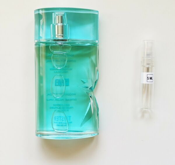 Thierry Mugler Ice Men *5 ML SAMPLE SIZE DECANT ATOMIZER VIAL* $9.95