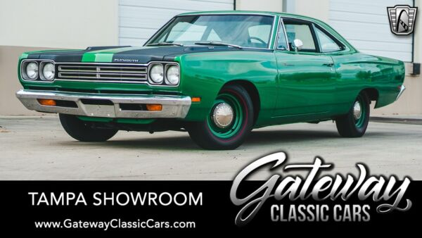 1969 Plymouth Road Runner  Green 1969 Plymouth Road Runner  383 4 Speed Manual Available Now!
