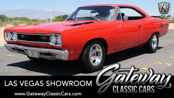 1968 Plymouth Road Runner  Orange 1968 Plymouth Road Runner  440 CID V8 Automatic Available Now!