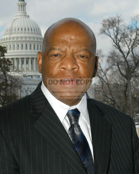 JOHN LEWIS GEORGIA REPRESENTATIVE AND CIVIL RIGHTS LEADER - 8X10 PHOTO (FB-471)