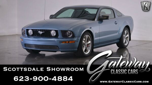 2006 Ford Mustang  Windveil Blue 2006 Ford Mustang GT  Actual Miles Coupe 4.6L V8  5 Speed Automat
