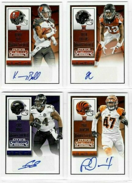 2015 Panini Contenders Football Rookie RC AUTO - You Pick!
