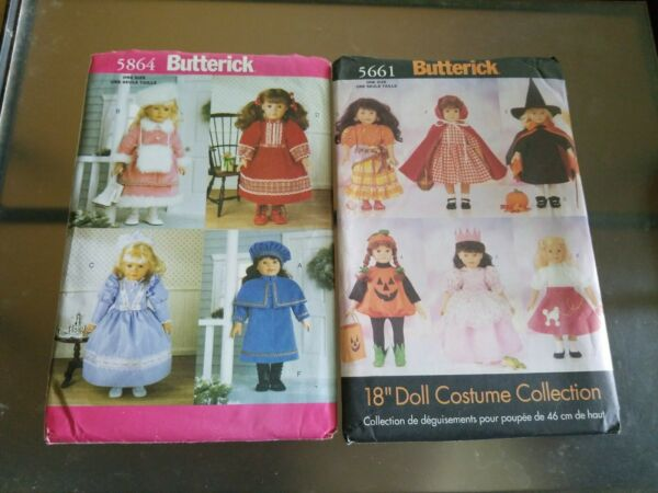 Butterick Sewing Pattern 5864 and 5661 For 14