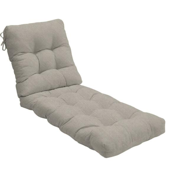Sunbrella 75quot; Long Outdoor Replacement Chaise Lounge Cushion Tufted 22 Colors $269.00
