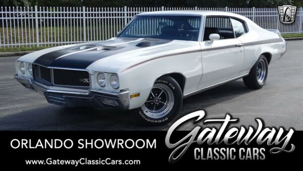 1970 Buick GSX Stage 1 White 1970 Buick GSX Coupe 455 CID V8 4 Speed Manual Available Now!