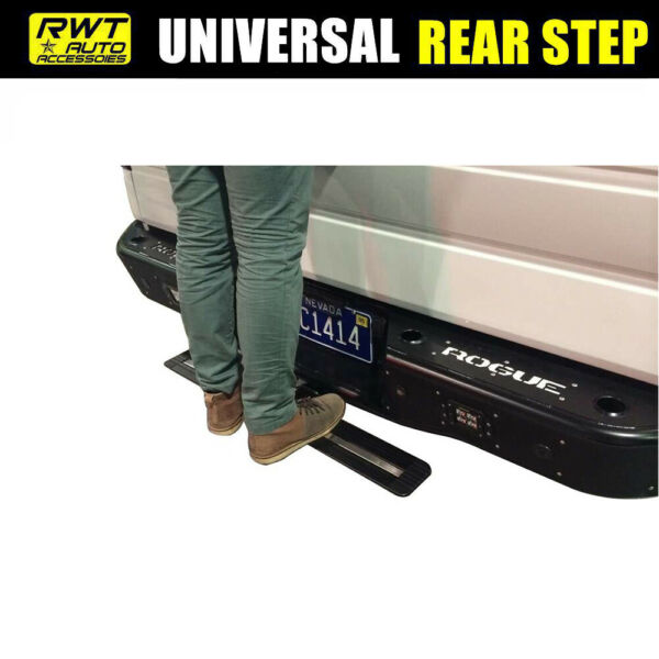 35quot; Aluminum Truck SUV Rear Hitch Step Mounting Receiver Bumper Guard Universal $28.49