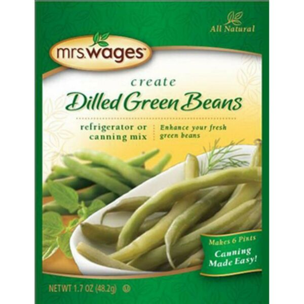 Mrs. Wages Dilled Green Beans Refrigerator or Canning Mix