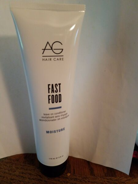 AG hair care Fast Food Leave on Conditioner NEW 6oz Sealed