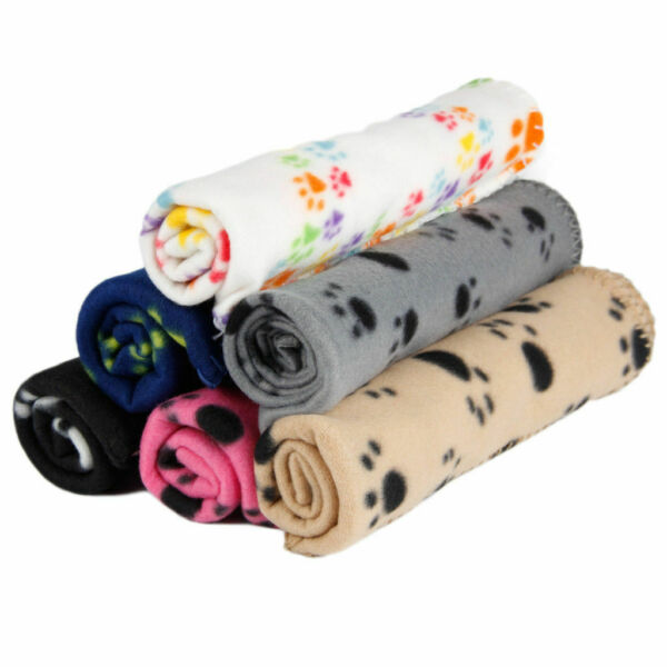 Sale Cute Lovely Puppy Cat Mat Pad Bed Cover Gift Soft Pet Dog Blanket Sofa Mat $2.99