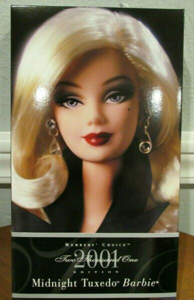 NEW 2001 BARBIE COLLECTOR CLUB MEMBER'S CHOICE