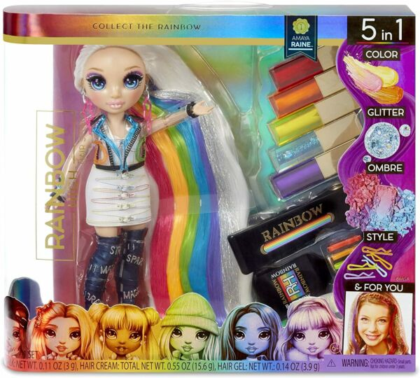 Rainbow High Hair Studio with Exclusive Amaya Raine Doll New In Stock 2020