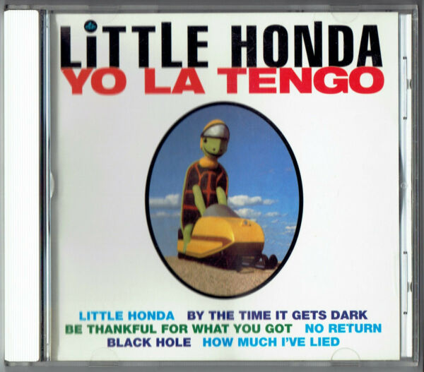YO LA TENGO Little Honda CD EP 6 Cover Tracks
