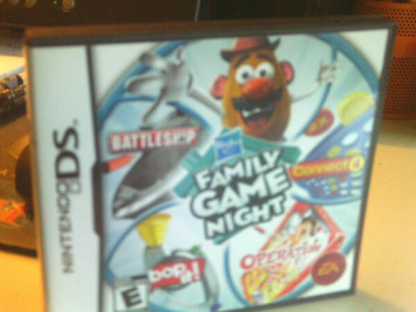 Hasbro Family Game Night Nintendo DS 2009 Game... With instruction booklet