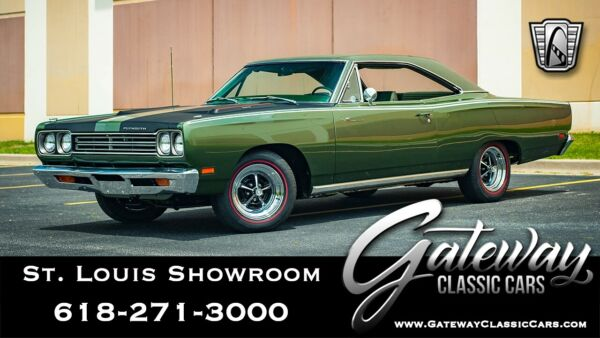 1969 Plymouth Road Runner  Green 1969 Plymouth Road Runner Coupe 383 727 torqueflight Available Now!