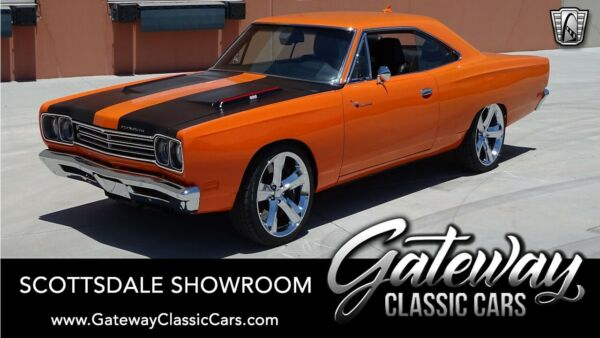 1969 Plymouth Road Runner  Vitamin C Orange 1969 Plymouth Road Runner Coupe 6.4L Hemi V8 8 Speed Automatic