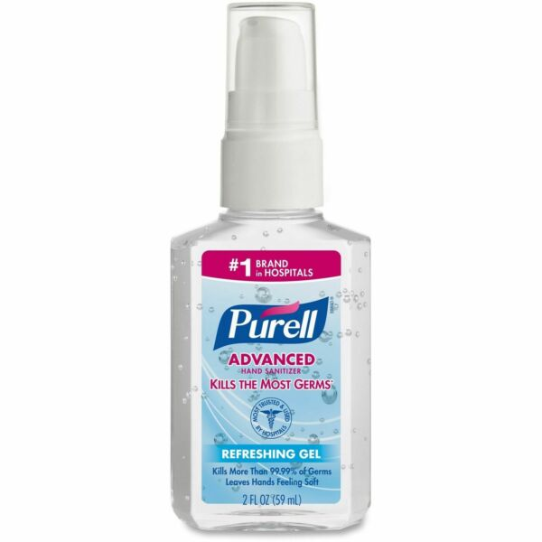 Purell Advanced Instant Hand Sanitizer - 2 oz    FREE SHIPPING