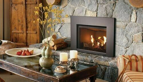 Superior DRI2000 27quot; DV Gas Fireplace Insert Electronic Ignition