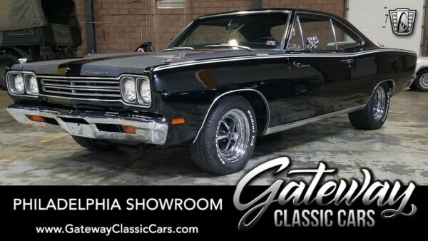 1969 Plymouth Road Runner  Black 1969 Plymouth Road Runner  383 CI V8 727 Torqeflite Available Now!