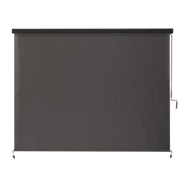 Exterior Roller Shades Cordless UV Blocking Fade Resistant 96 72 48 in W $101.80