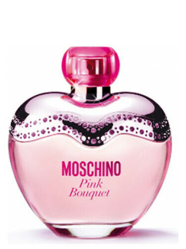 PINK BOUQUET BY MOSCHINO FOR WOMEN EDT SPR 3.4 OZ 100 ML AUTHENTIC TESTER ITALY $27.99