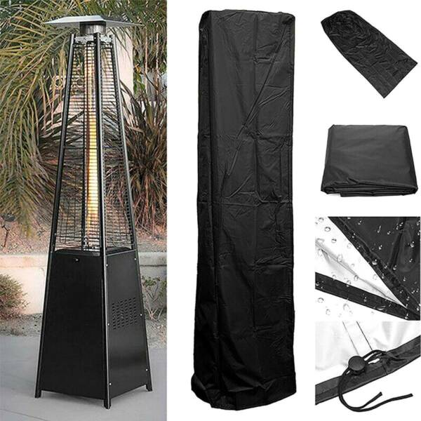 Waterproof Gas Pyramid Patio Heater Cover Garden Outdoor Furniture Protector