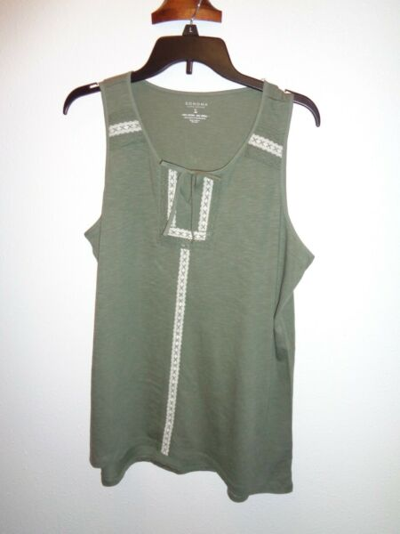 Sonoma Tank Top Size Large NWT