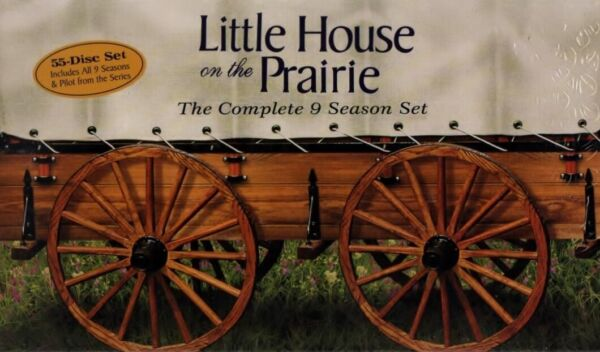 Little House on the Prairie The Complete Series 55 DVD Box Set New Free Shipping
