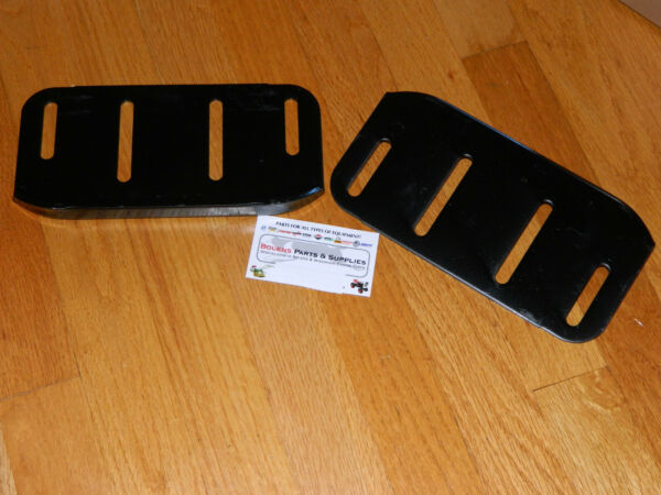 Craftsman Agri Fab Skid Shoe Runner Plate 24279 Tractor Snow Blower Thrower Qty2