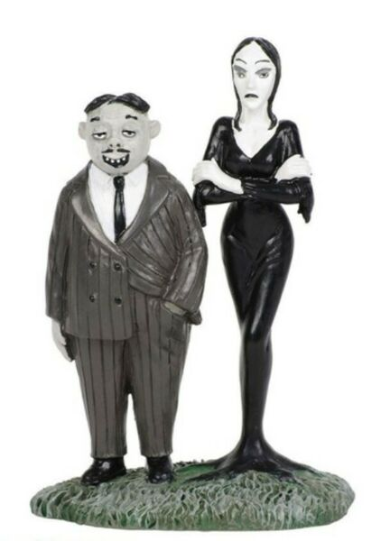 Dept 56 Addams Family Gomez and Morticia #6002949 BRAND NEW Free Shipping